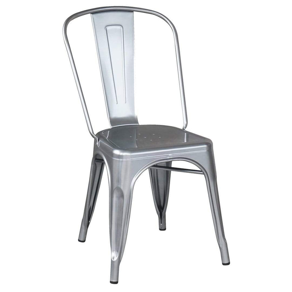 elevenpast Silver Metalic Tolix Chair