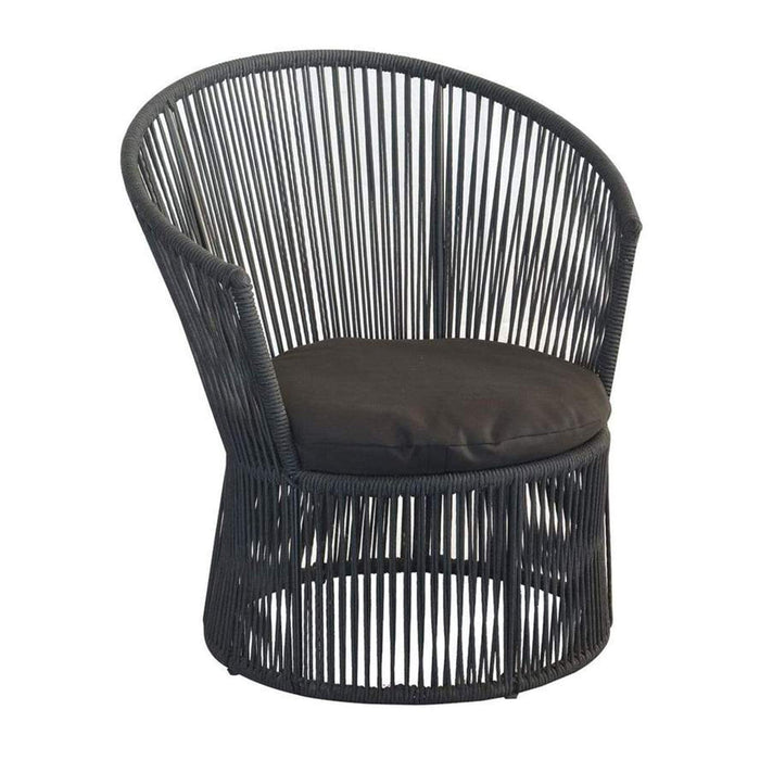 elevenpast String Tub Chair Black