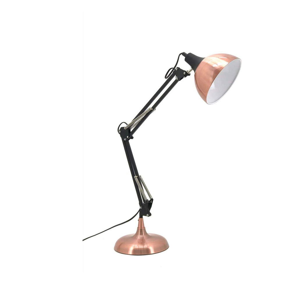 elevenpast table lamp Black and Copper Retro Desk Lamp