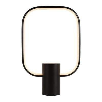 elevenpast table lamp Black Square LED Table lamp