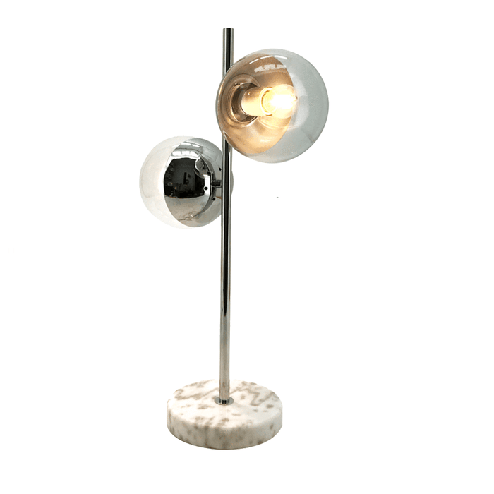 elevenpast table lamp Chrome Lausanne Table Lamp