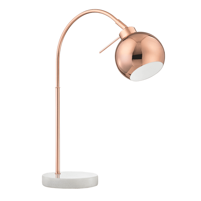 elevenpast table lamp Copper Table Lamp