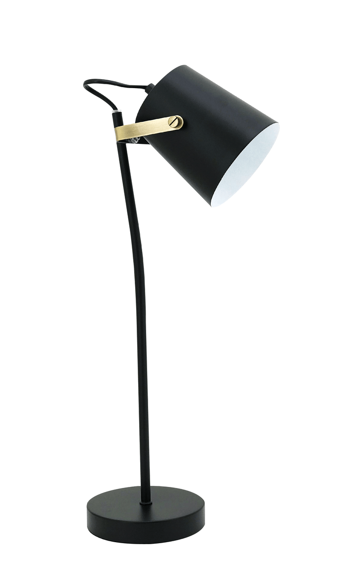 elevenpast table lamp Dorset Desk Lamp Black and Brass