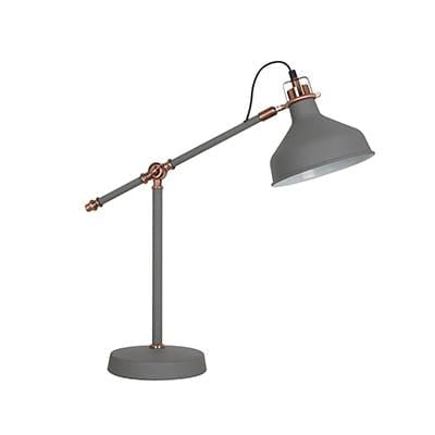 elevenpast table lamp Grey Copper Luca Table Lamp