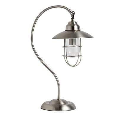 elevenpast table lamp Satin Chrome Monica Table Lamp