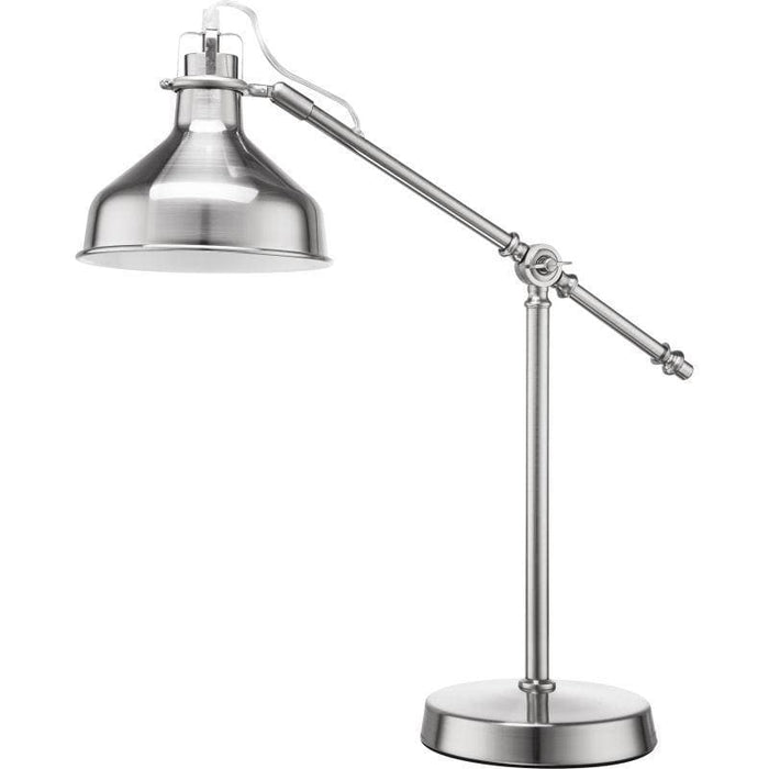elevenpast table lamp Satin Nickle Old School Table Lamp