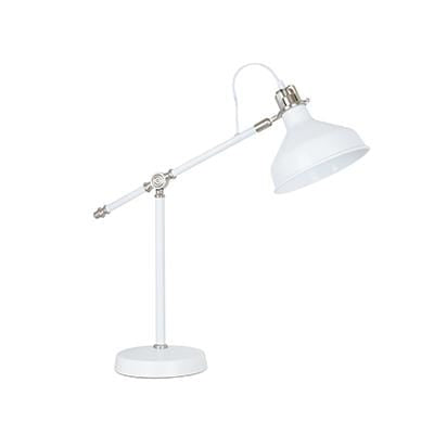 elevenpast table lamp White Nickel Luca Table Lamp
