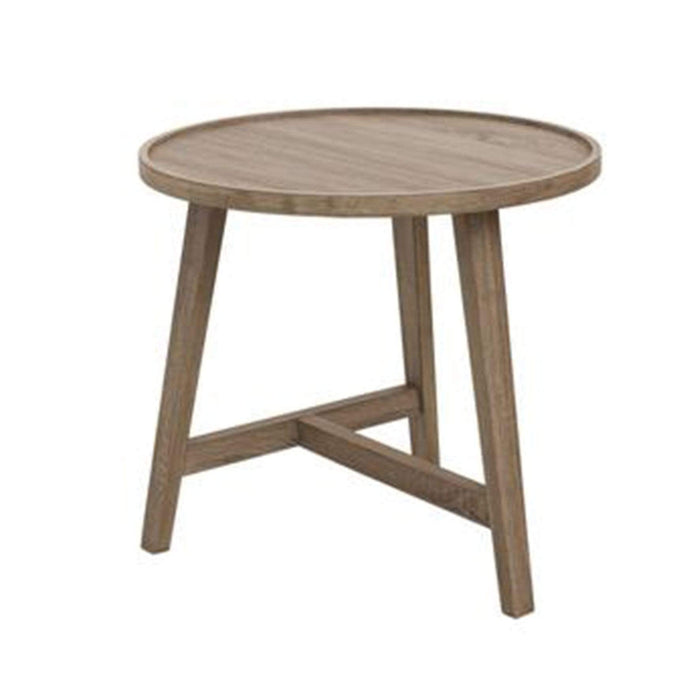elevenpast Tables Large Oak Veneer Side Table