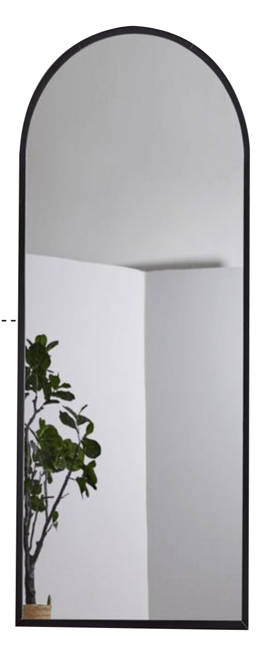elevenpast Tall Arch Floor Standing/Wall Mirror