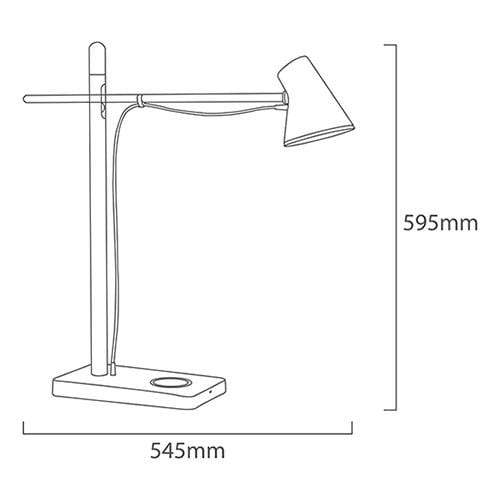 elevenpast USB Empire Desk Lamp