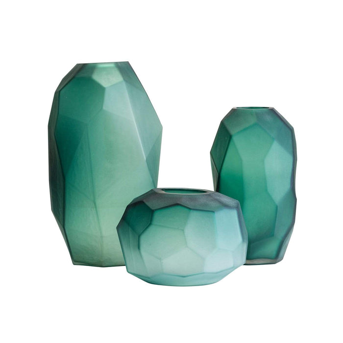 elevenpast vases Hexagon Glass Vase