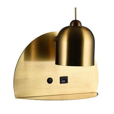 elevenpast Wall light Gold Luxo Round