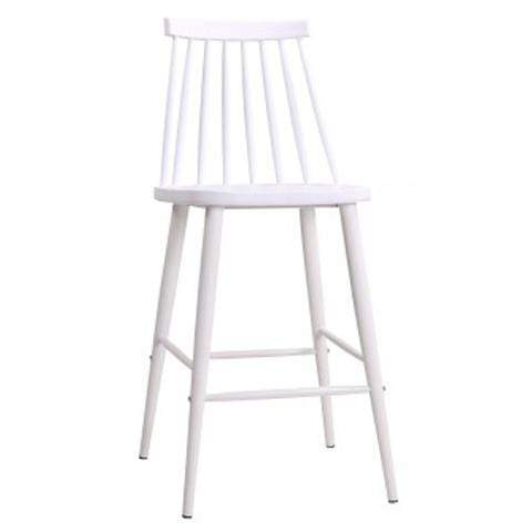 elevenpast White Cafe Bar Stool