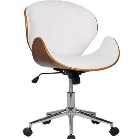 elevenpast White Chicago Office Chair