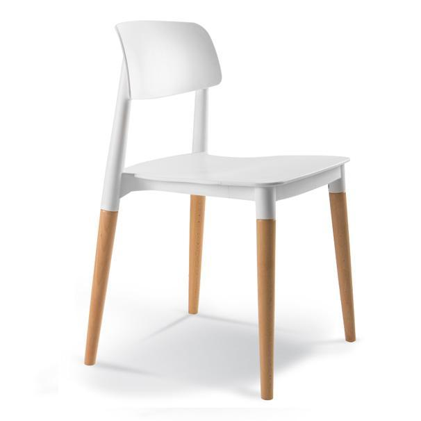 elevenpast White Dickson Cafe Chair