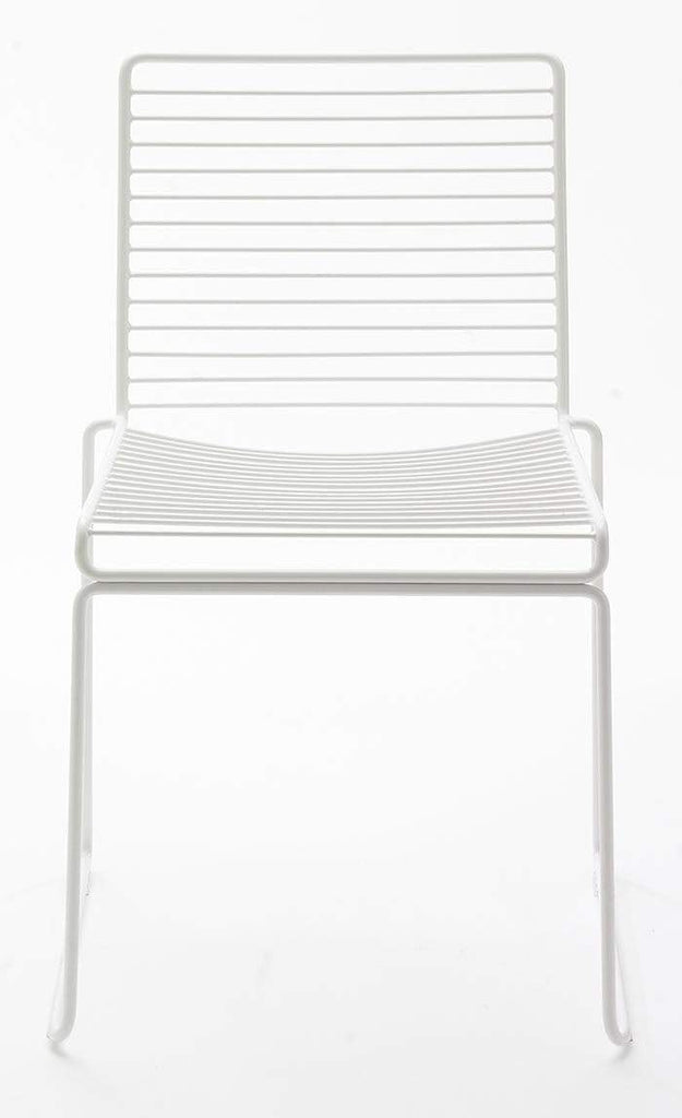 elevenpast White Grid Chair