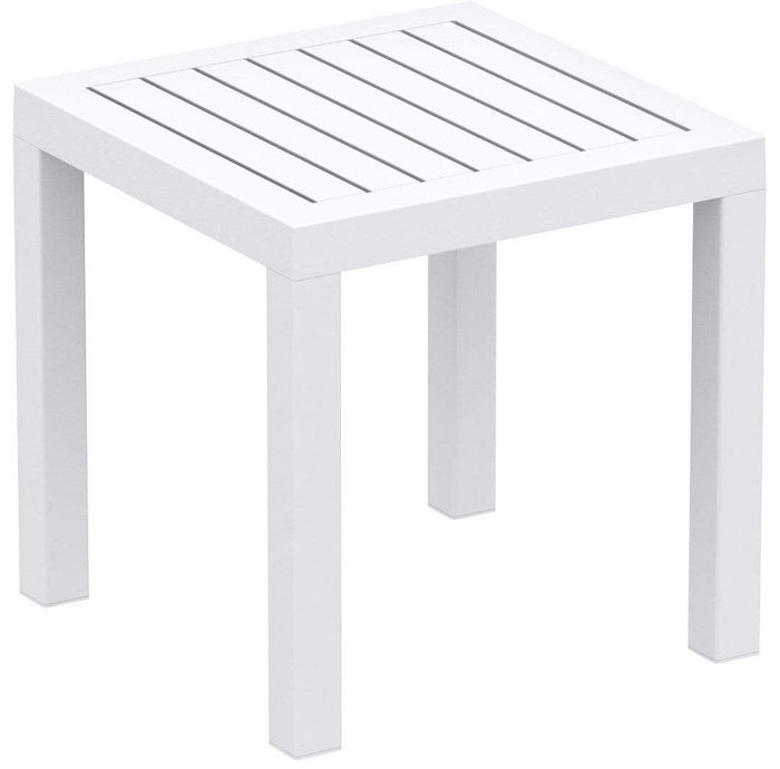 elevenpast White Ocean Side Table