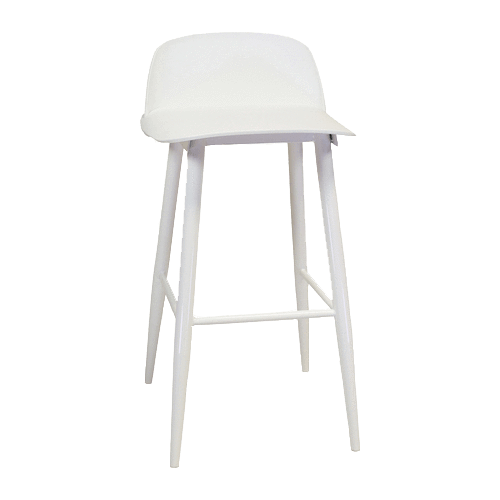 elevenpast White Replica Nerd Bar Stool