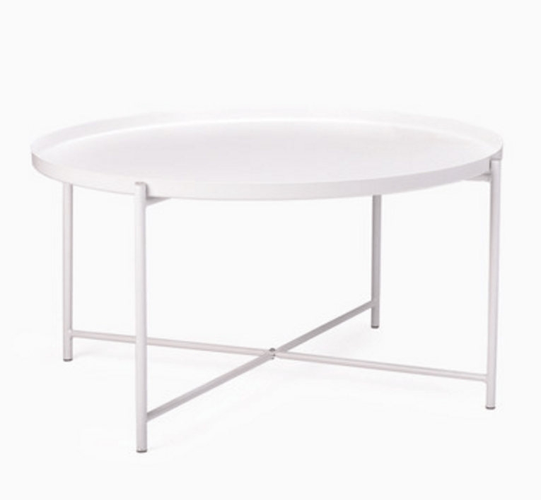 elevenpast White Round Coffee Table