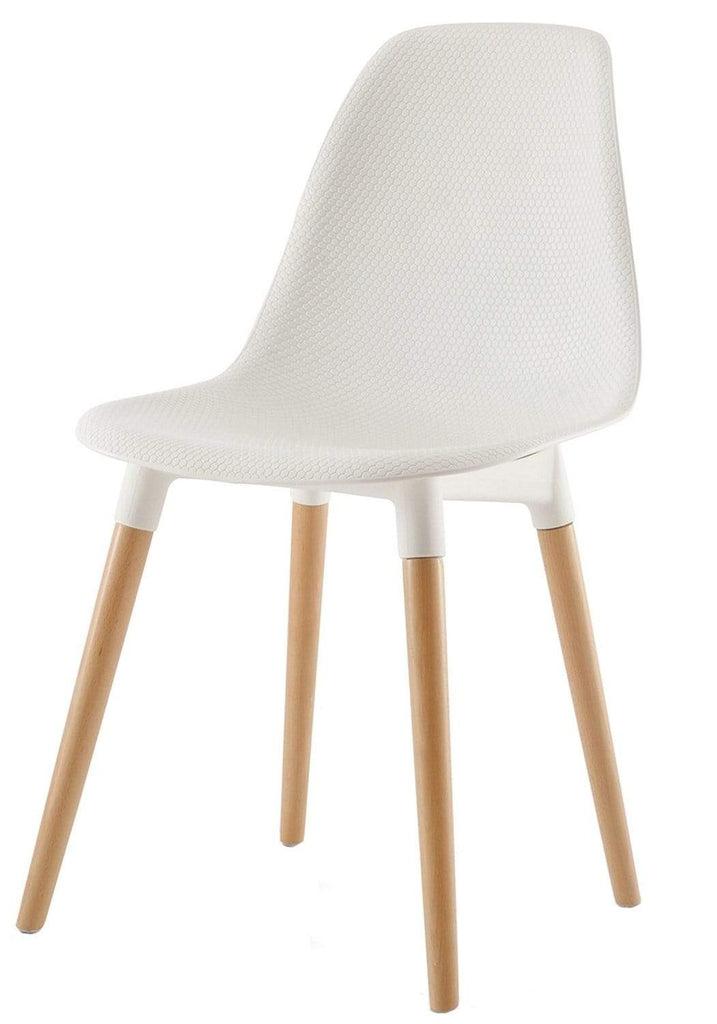 elevenpast White Stud Chair