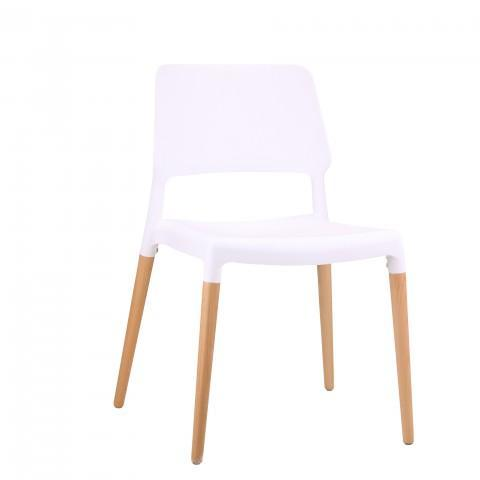 elevenpast White Tod Cafe Chair