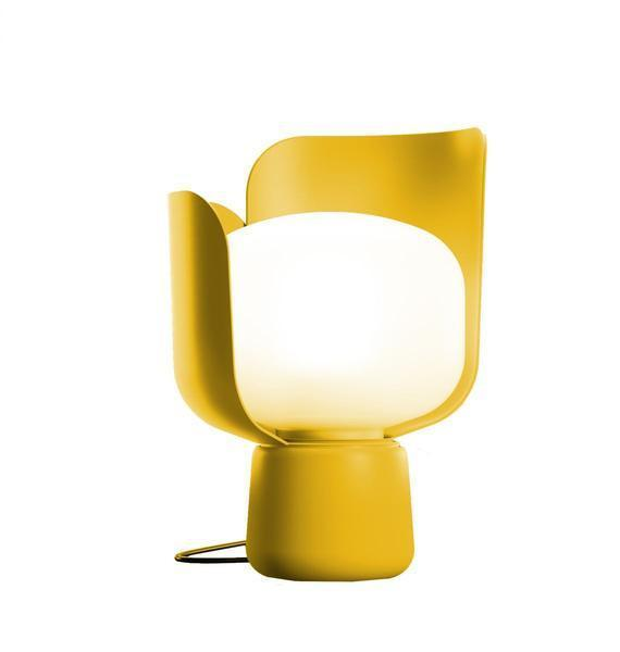 elevenpast Yellow Fontana Arte Blom Table Lamp
