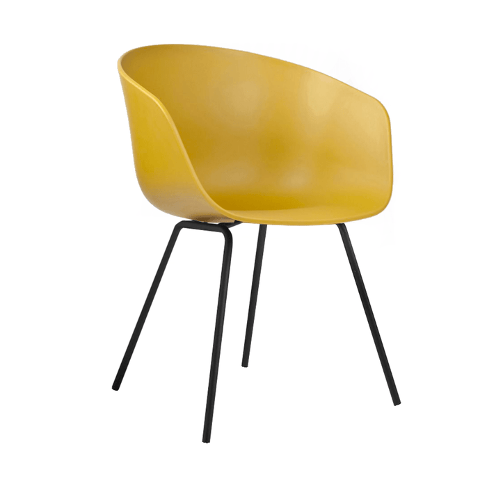 elevenpast Yellow Replica Hay Chair Metal Frame