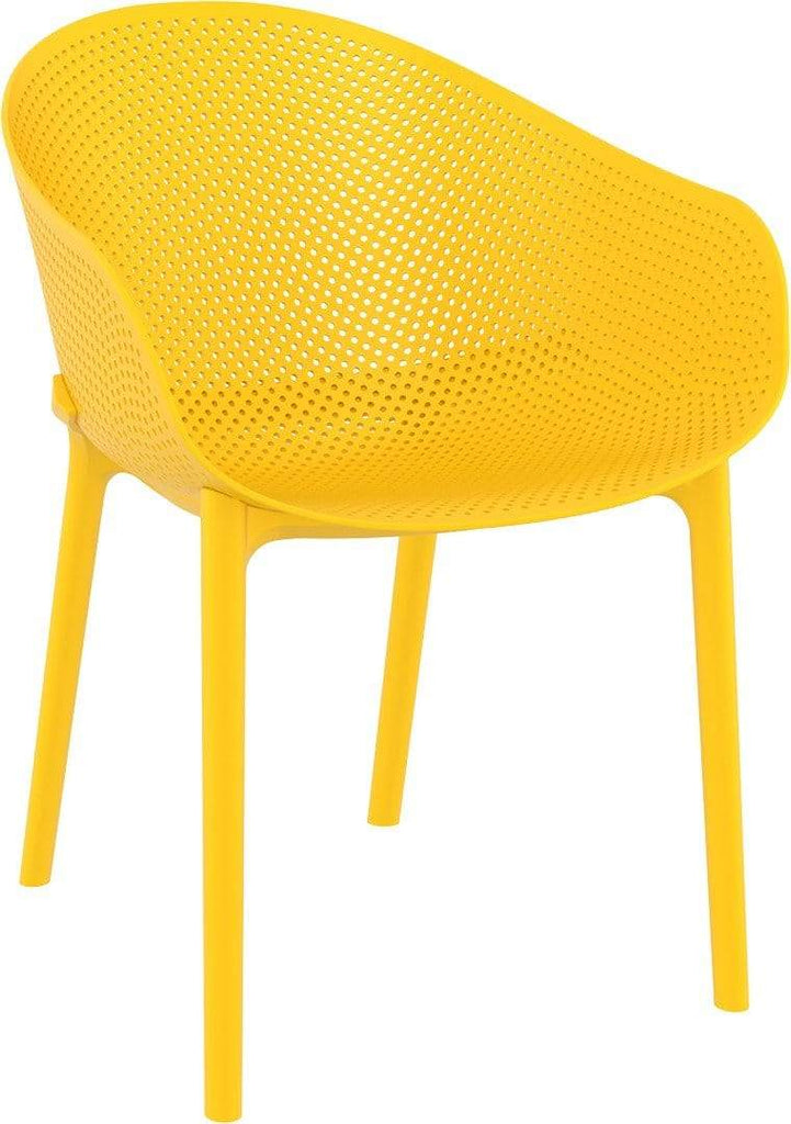 elevenpast Yellow Sky Armchair