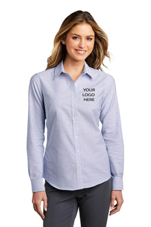 PA® Ladies SuperPro™ Oxford Stripe Shirt