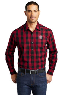 PA® Mens Everyday Plaid Shirt