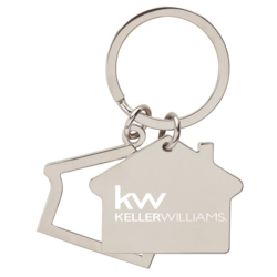 NEW IN STOCK 2/$10 KW-House Keyring
