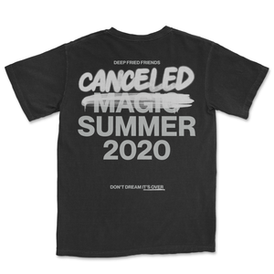 DFF CANCELED SUMMER 2020 T-SHIRT