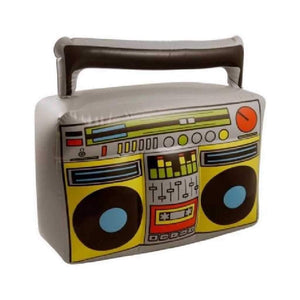 44cm x 38cm inflatable boom box - Party Props