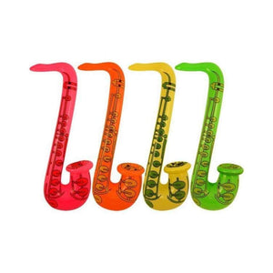75cm inflatable saxophone - Party Props