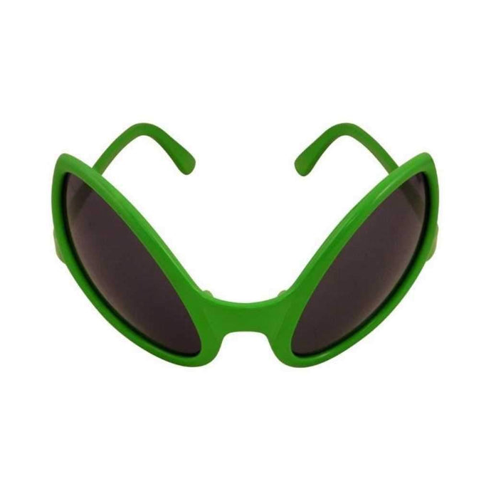 green alien glasses - Party Props
