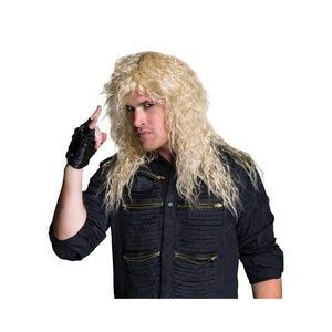 blonde rock star wig - Party Props