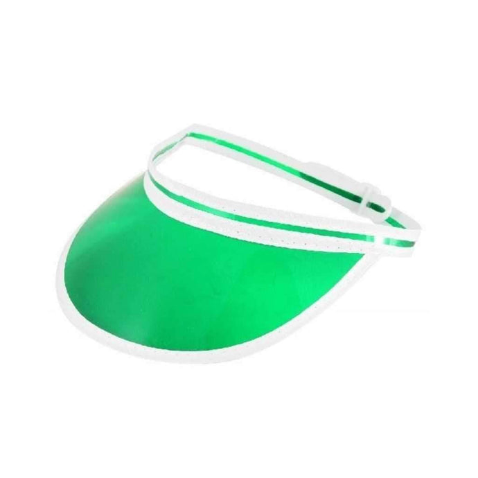 green poker visor - Party Props