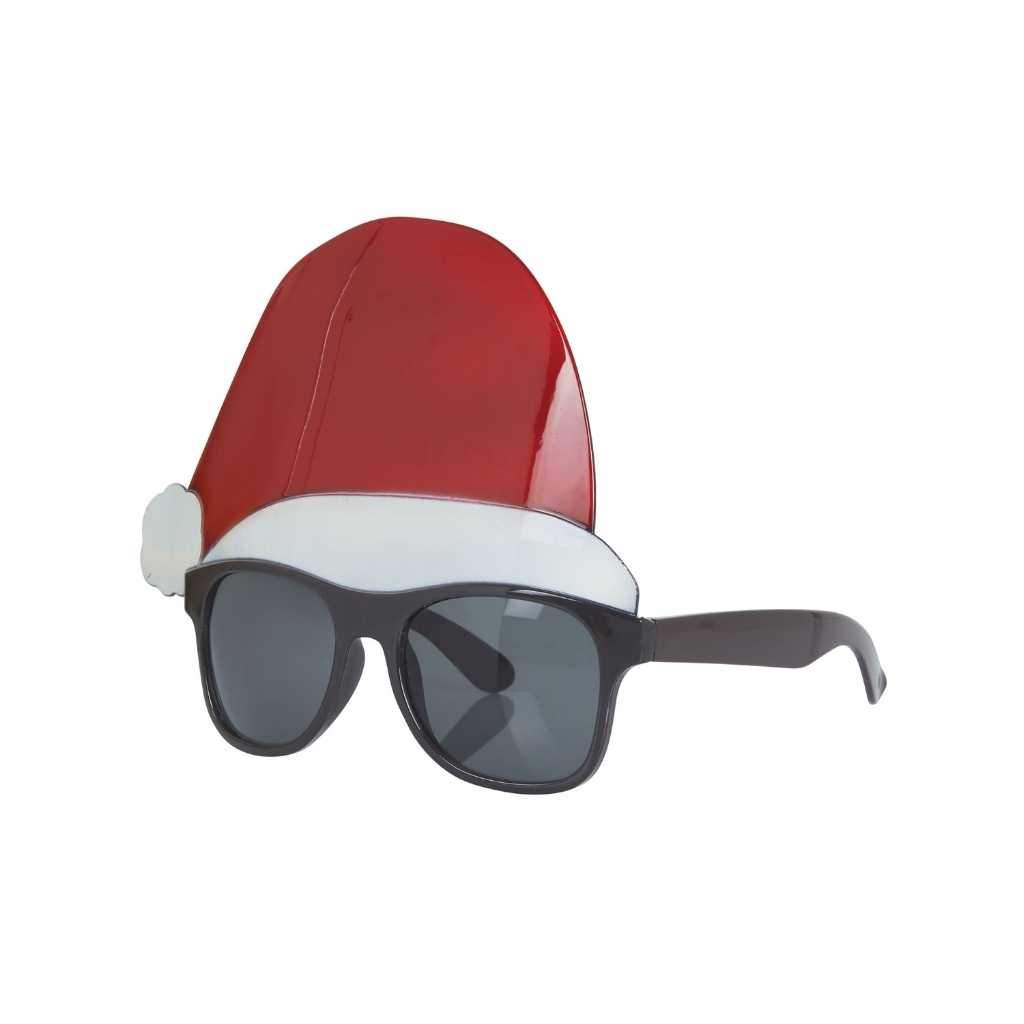 santa hat glasses - Party Props