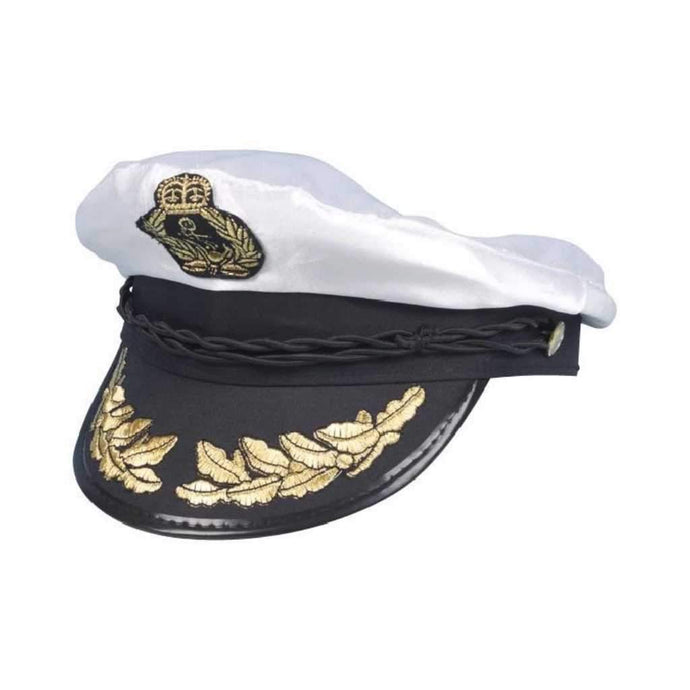 satin captain hat -Party Props