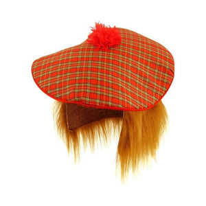 scottish tartan hat - Party Props