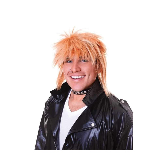 spikey blonde wig - Party Props