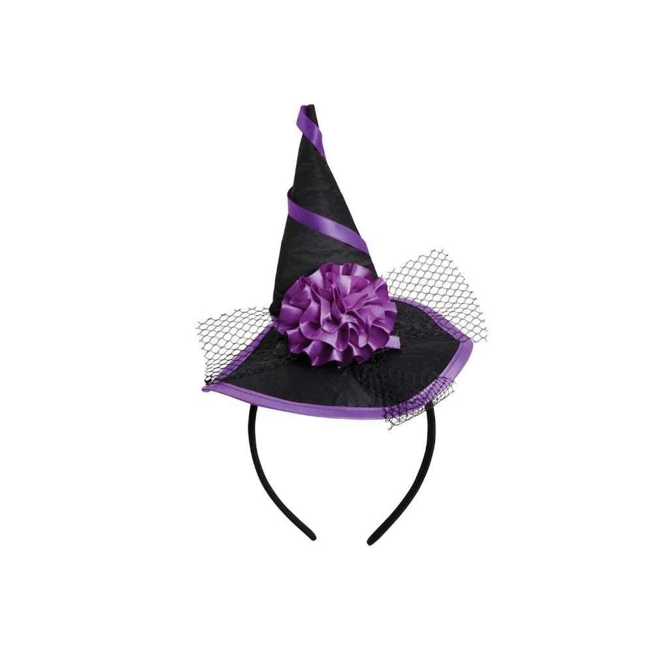 witch hat on headband - Party Props