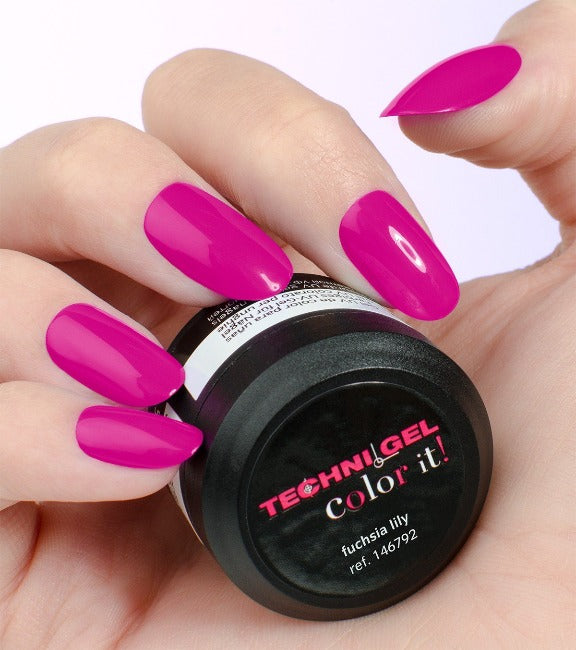 Gel Color Peggy Sage Fuchsia Lily