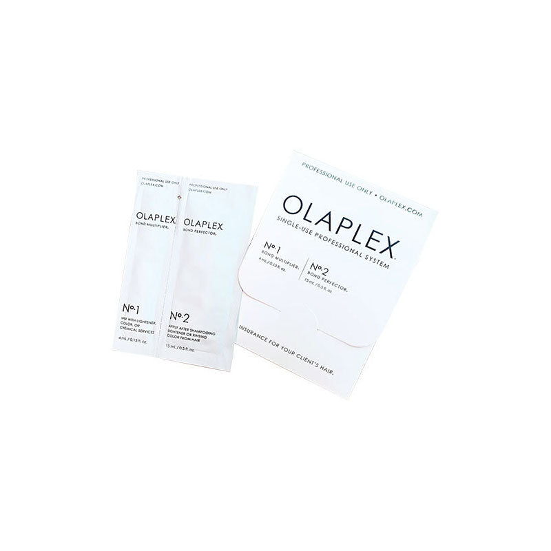 Olaplex N°1 Bond Multiplier + N°2 Bond Perfector Monouso