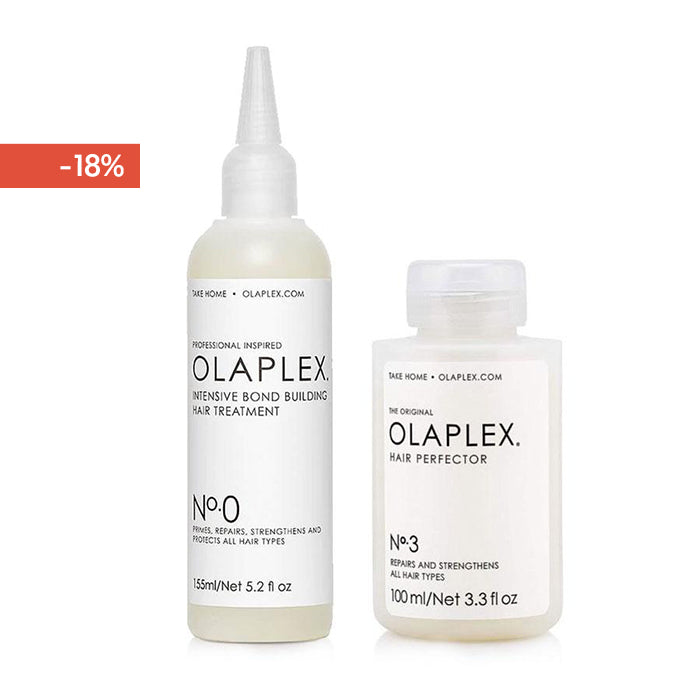 Olaplex Set Intensive Bond Building N°0 + N°3