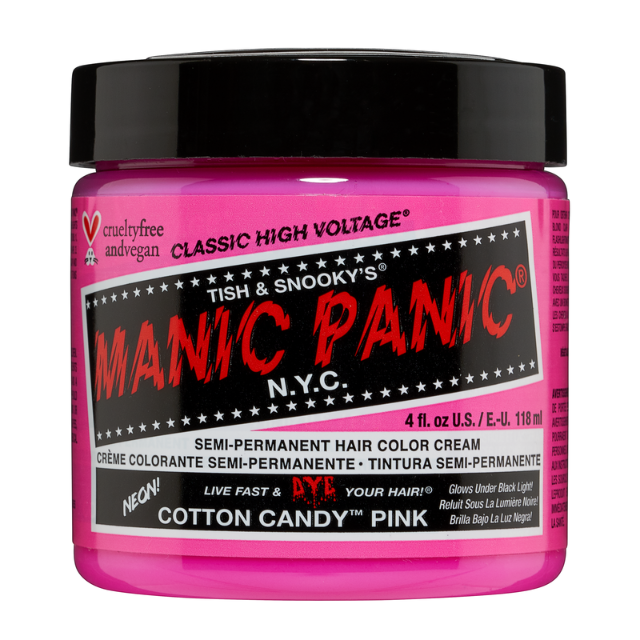 Manic Panic High Voltage Cotton Candy Pink