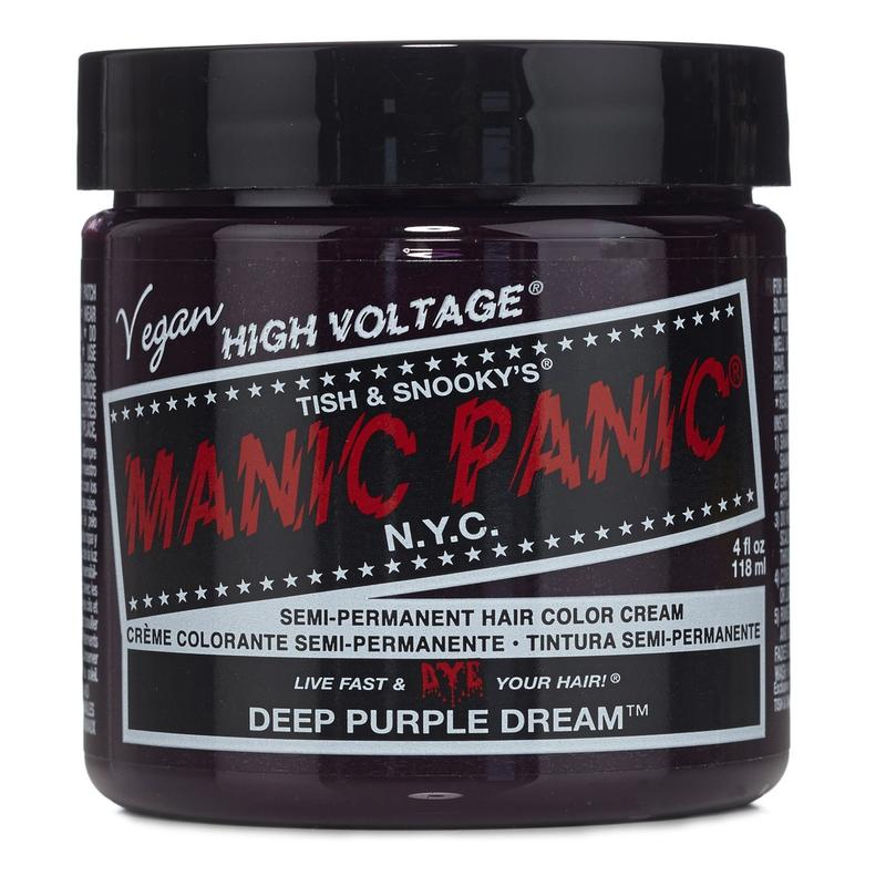 Manic Panic High Voltage Deep Purple Dream