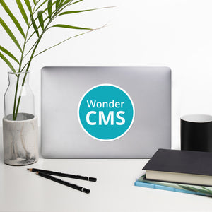 WonderCMS Logo Sticker