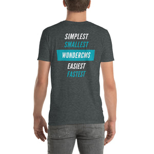 Unisex T-Shirt - Simplest, smallest, easiest, fastest