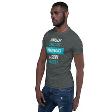 Load image into Gallery viewer, Unisex T-Shirt - Simplest, smallest, easiest, fastest (front)